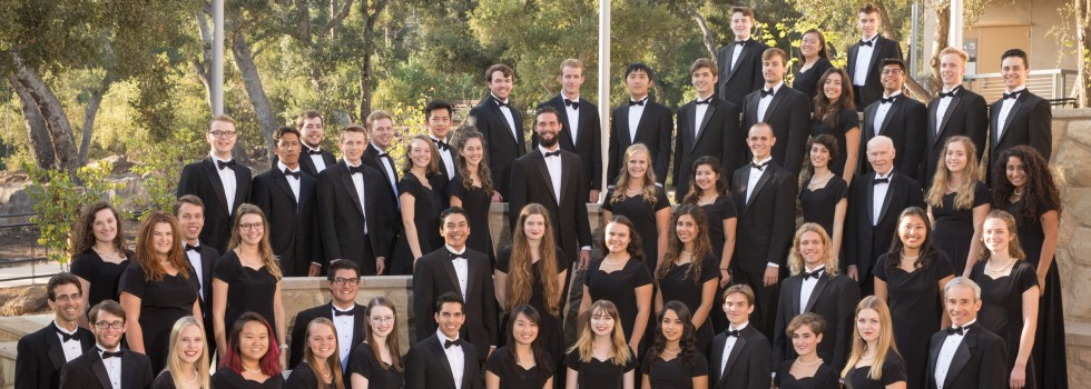 The 2017-18 Westmont College Choir