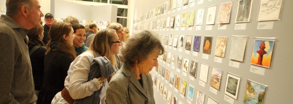 Large crowds flocked to the 5x5 exhibition in 2014