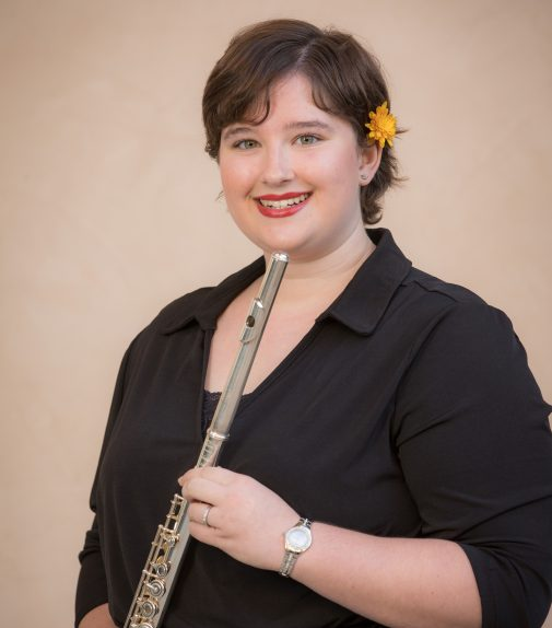 Flutist and composer Sarah Hooker