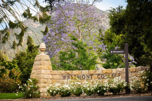 The Westmont entrance
