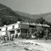 Voskuyl Library in 1968 (photo courtesy Westmont Archives)