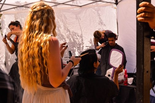 One student-led ministry focuses on haircutting (photo by Katie Wright '16)