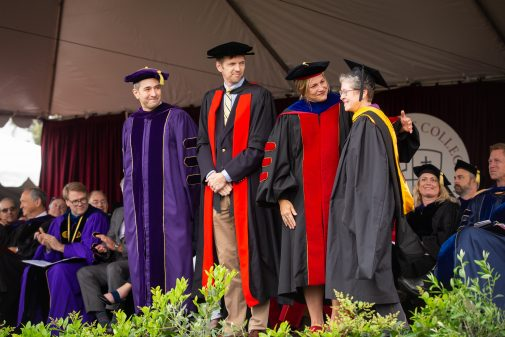 Faculty awardees included Professors Don Patterson, Alister Chapman, Cynthia Toms and Beth Horvath