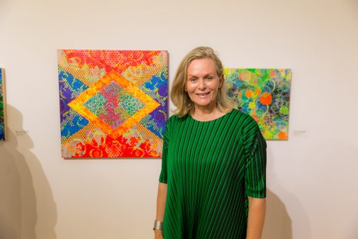 """Kerrie Smith won the Third Honorary Mention for """"Equipoise 7"""""""
