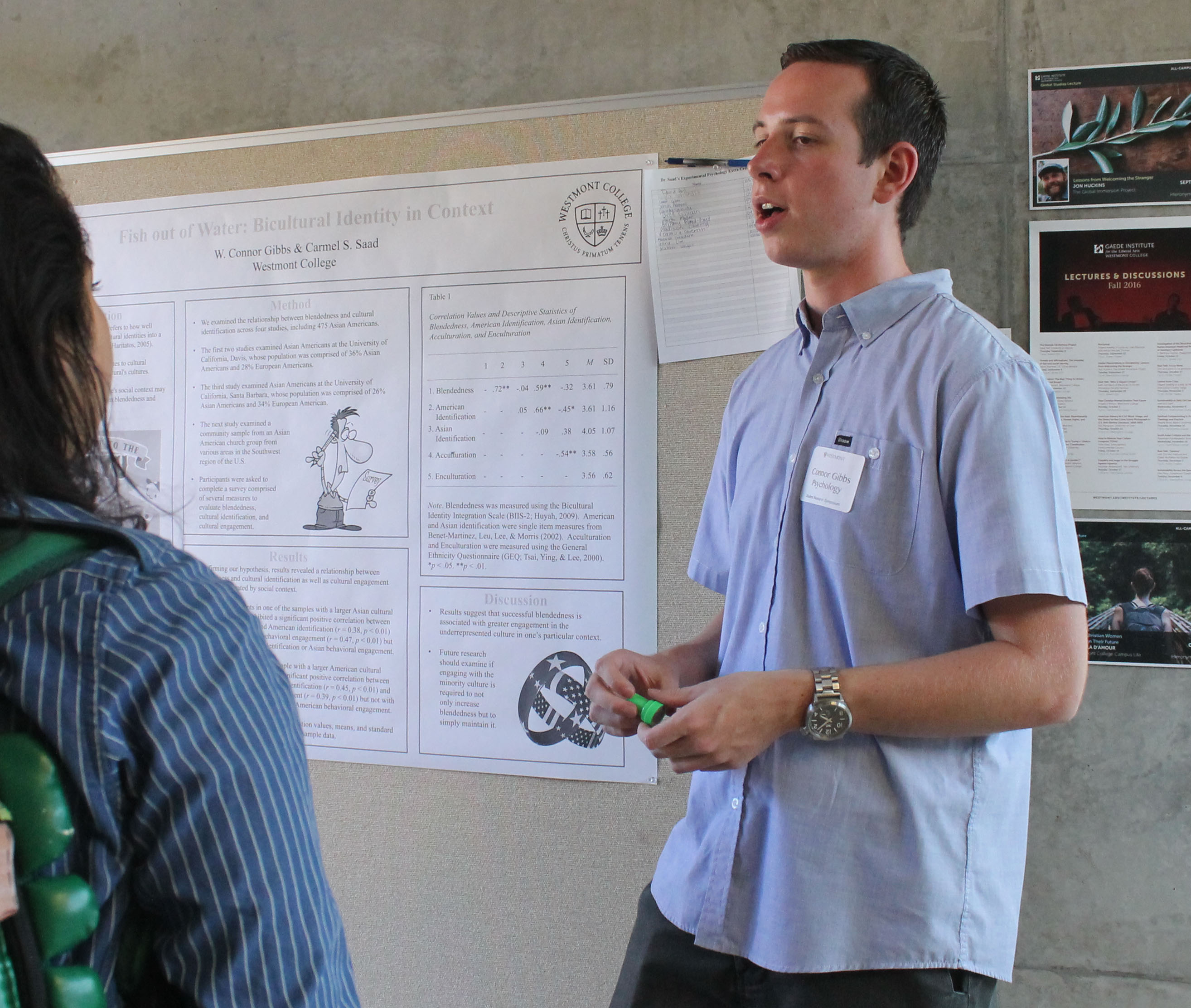 Connor Gibbs is enrolled in UC Santa Barbara's social psychology doctoral program