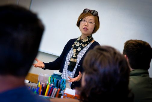 Dr. Helen Rhee, Westmont professor of religious studies, is part of this year's Trailhead teaching team