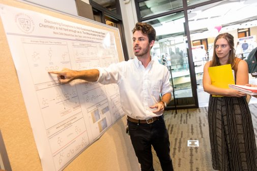 Nick Taylor explains his summer research
