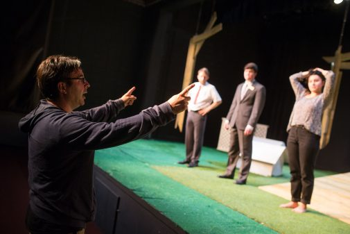 "Mitchell Thomas directs ""The Government Inspector"""