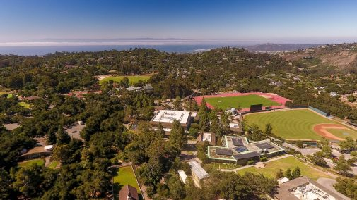 Westmont is nestled between the Pacific Ocean and the Santa Ynez Mountains
