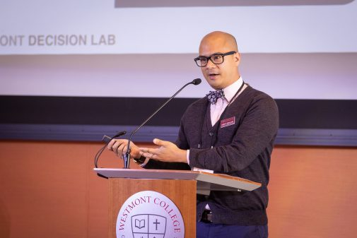 Dr. Manlapig explores Decision Lab at Lead Where You Stand 2019