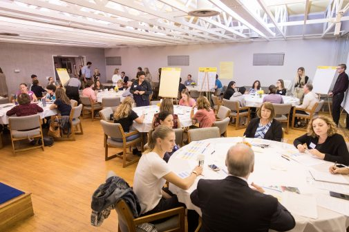 The Westmont Initiative for Public Dialogue and Deliberation examined how the region cares for its vulnerable children in 2018