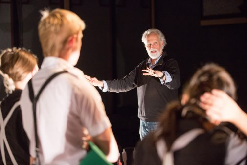 """Blondell directs """"Insect Comedy"""" in 2105"""