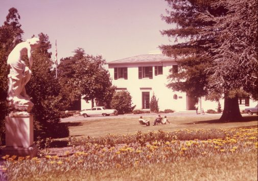 Kerrwood Lawn in the late 1960s