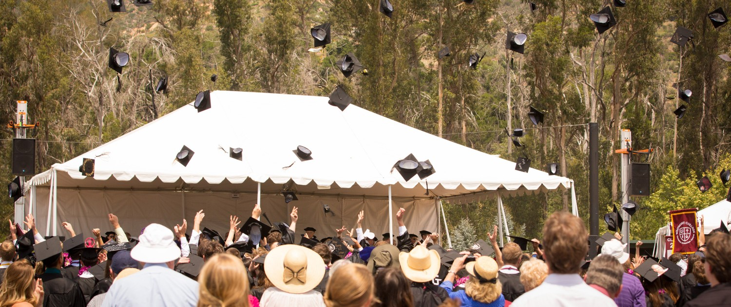 Graduation at Westmont College