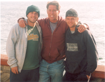 Lucas, Cliff, and Cody King