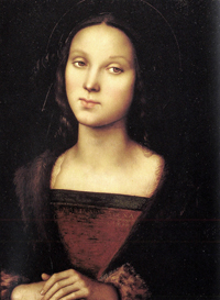 Perugino depiction of Mary Magdalene