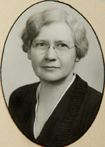 Mabel Culter (photo courtesy of the Westmont College Archives)