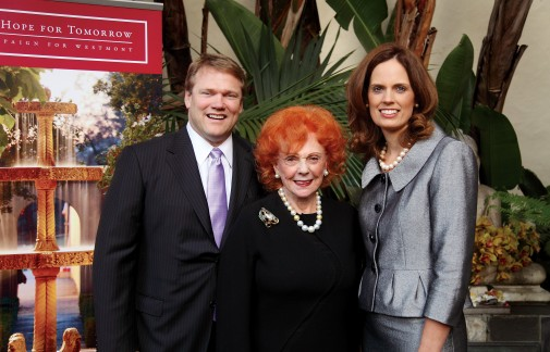 President and Mrs. Beebe with Lady Ridley-Tree