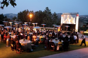 A dinner in Orange County at Shady Canyon Golf Club on May 15