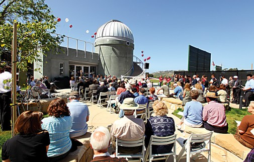 Dedication of the New Observatory