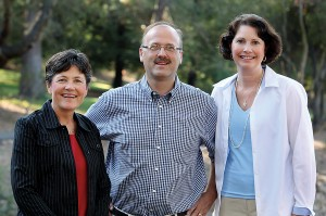 Education professors include Jane Wilson (left), Andrew Mullen and  Michelle Hughes.
