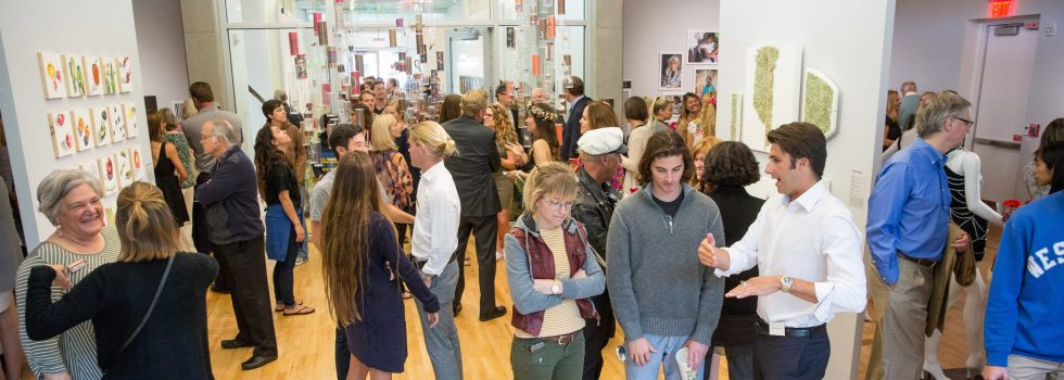 The opening reception of the 2016 Senior Show