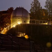 The Westmont Observatory, home of the powerful Keck Telescope