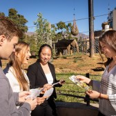 Westmont Decision Lab students assisted the Santa Barbara Zoo in making decisions about its future.