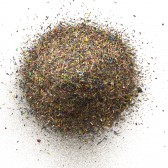 """Pecos Pryor's """"Two Years,"""" a print of sifted pencil shavings"""