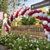 The entrance to Westmont at Orientation
