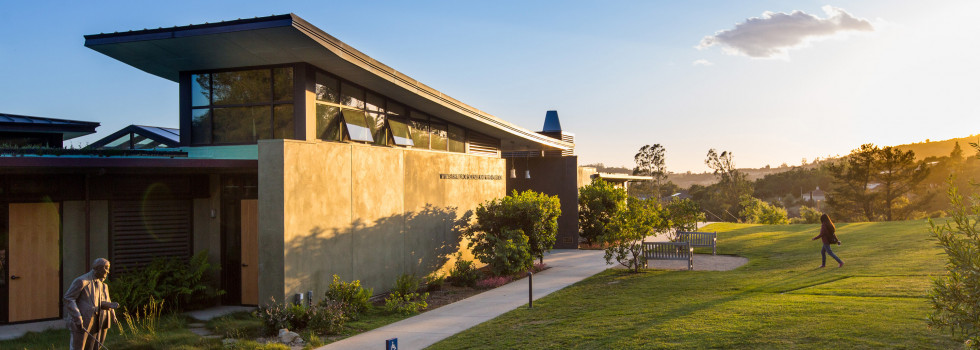 Westmont's mathematics, computer science, physics and psychology departments are housed in Winter Hall