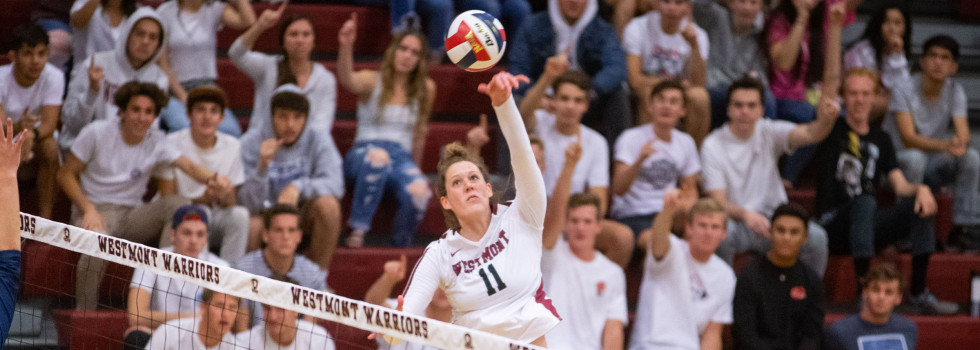 Senior Cassidy Rea led the Warriors with 15 kills on Nov. 23