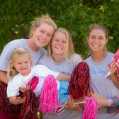 There are two sessions of Girls Cheer and Dance (June 29–July 3, July 6–10),