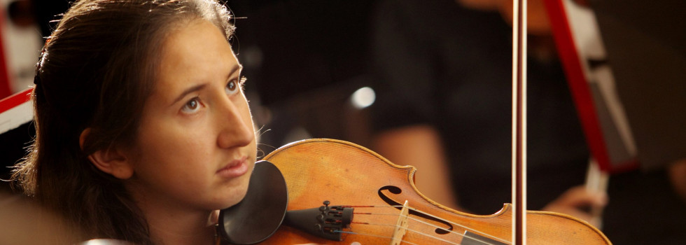 Sarah Shasberger Pfister performs with the Carnevale String Quartet from Bulgaria